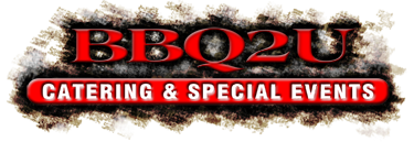 bbq2u catering and special events logo